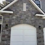 Berkley Castle Rock Style Real Thin Stone Veneer Garage