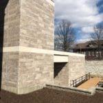 Custom Sawn Face Dimensional Tenbury Natural Stone Veneer Commercial Exterior