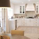 La Spezia Dimensional Tumbled Natural Stone Veneer Kitchen