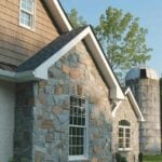 Shoreline Real Thin Stone Veneer Accent Wall