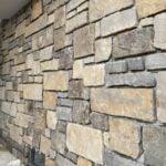 Annapurna Ashlar Style Real Thin Stone Veneer Exterior Wall Installation