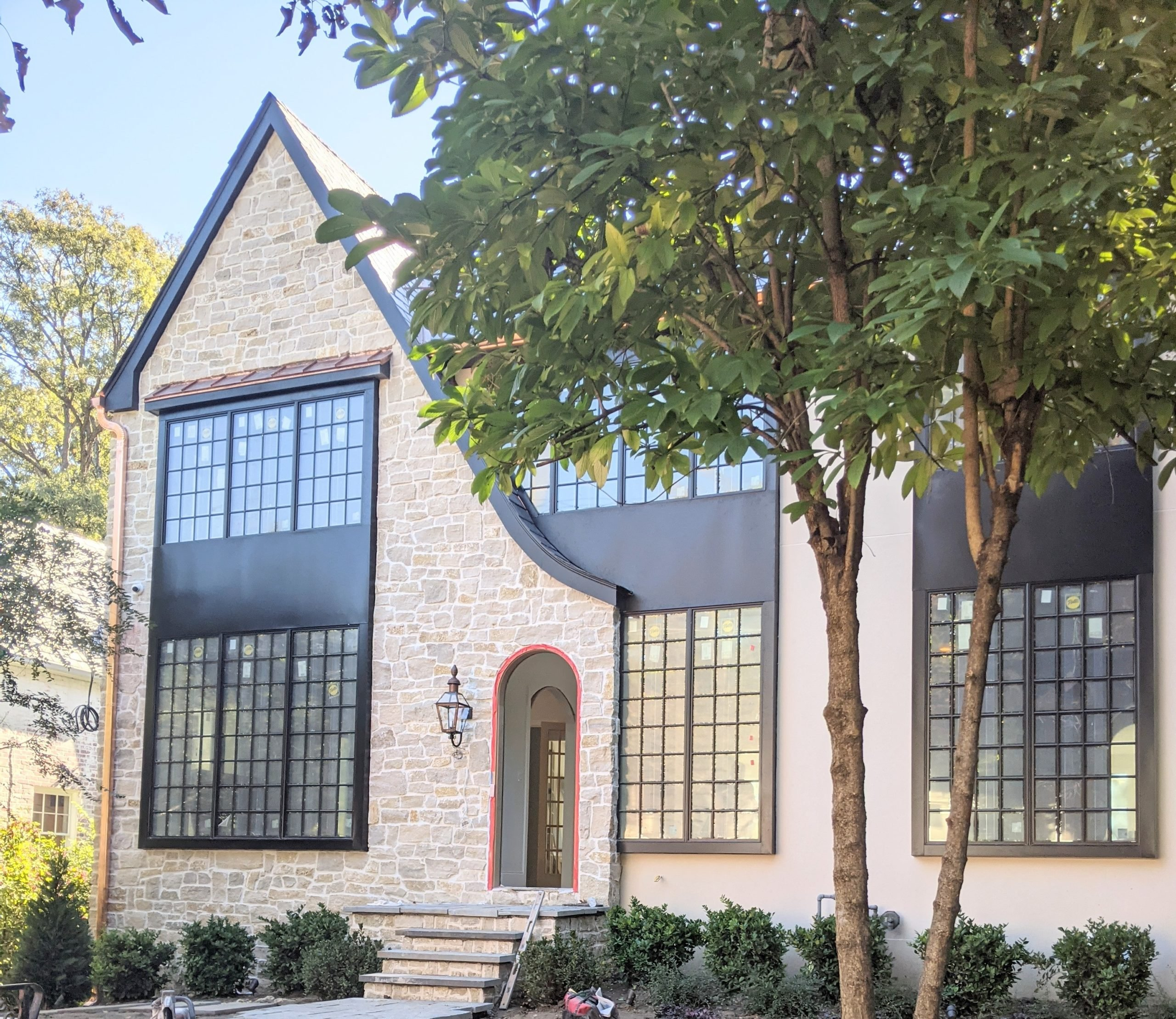Madison Ashlar Style Real Thin Stone Veneer Exterior
