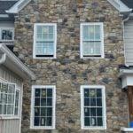 Sierra Vista Mosaic Natural Thin Stone Veneer Exterior Accent Wall
